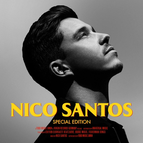 √Nico Santos (Special Edition) von Nico Santos - CD jetzt im Digster Shop