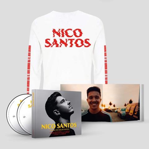 Nico Santos (Ltd. Special Fan Deluxe Edition + Longsleeve Bundle) von Nico Santos - CD-Bundle jetzt im Digster Shop