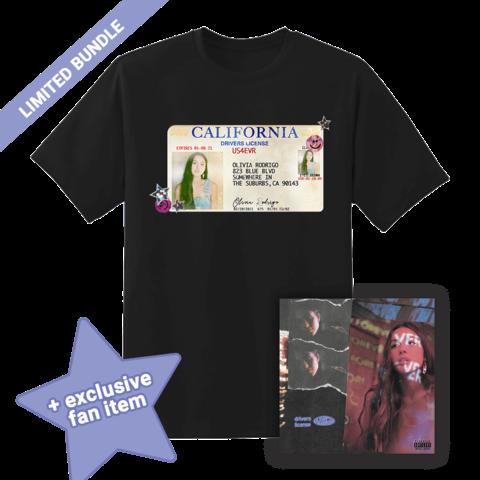 Driver's Licence (Ltd. Bundle CD + T-Shirt) von Olivia Rodrigo - CD Single + T-Shirt + Fan Item jetzt im Digster Shop