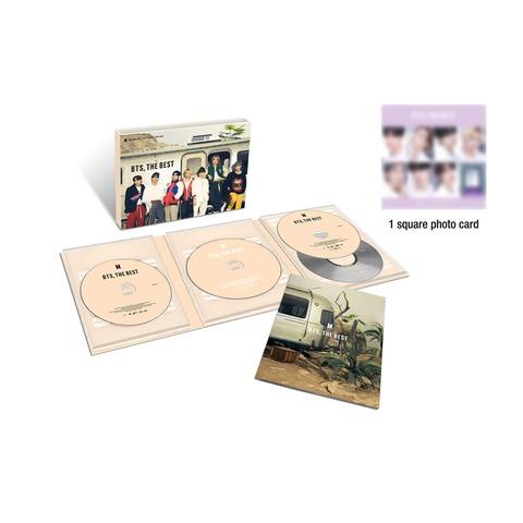 √BTS, THE BEST (Limited Edition B) von BTS - CD + DVD jetzt im Digster Shop