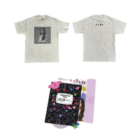 Sour (Journal CD + T-Shirt + Signed Card) von Olivia Rodrigo - CD + T-Shirt jetzt im Digster Shop
