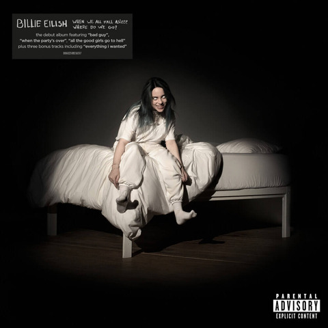 WHEN WE ALL FALL ASLEEP, WHERE DO WE GO? (Re-Pack) von Billie Eilish - CD jetzt im Digster Shop