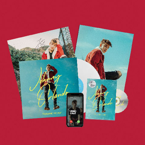 Teenage Fever (Fan Streaming Bundle) von Johnny Orlando - LP jetzt im Digster Shop