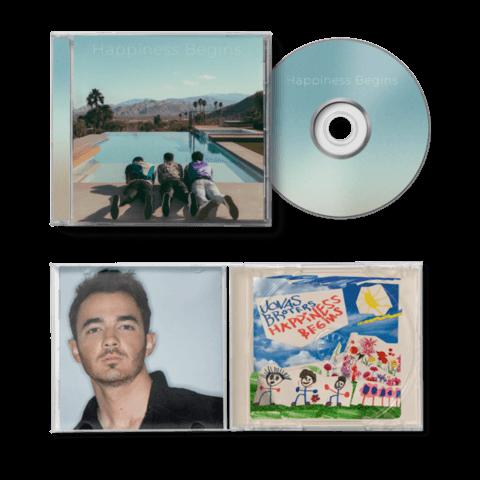 Happiness Begins (Ltd. Kevin Version) von Jonas Brothers - CD jetzt im Digster Shop