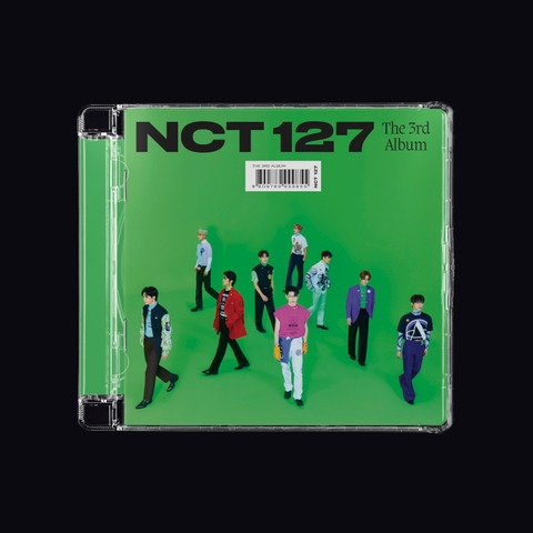 The 3rd Album 'Sticker' by NCT 127 - Jewel Case CD - shop now at Digster store